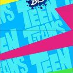 Convite Bis Duplo 3D Jovens Titans