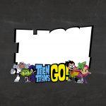 Convite Chalkboard Jovens Titas