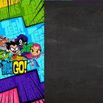 Convite Digital Jovens Titans 2