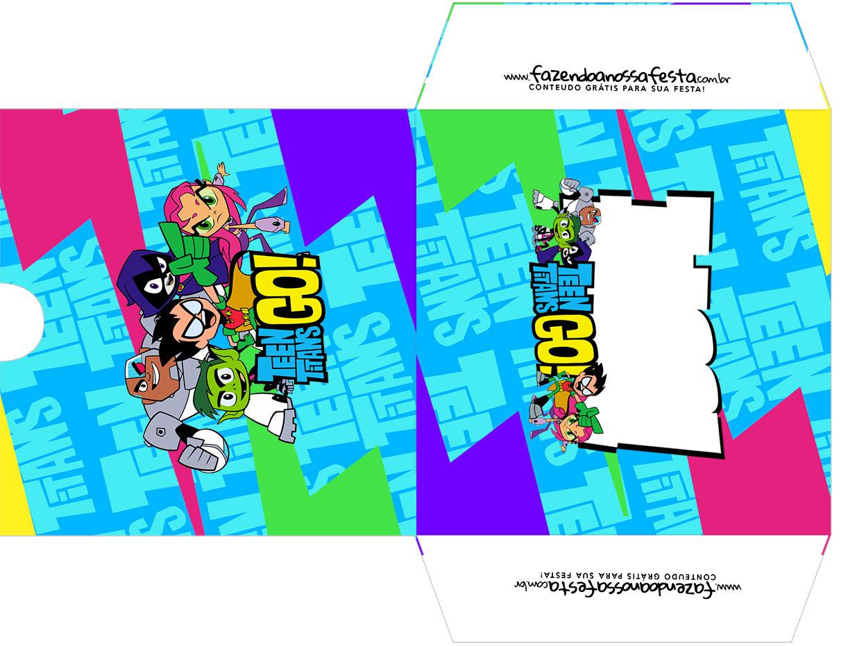 Envelope CD DVD Os Jovens Titas