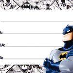 Etiqueta Escolar Batman para imprimir 7
