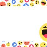 Etiqueta Escolar Emoji 2