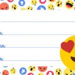 Etiqueta Escolar Emoji 3