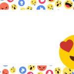 Etiqueta Escolar Emoji 4