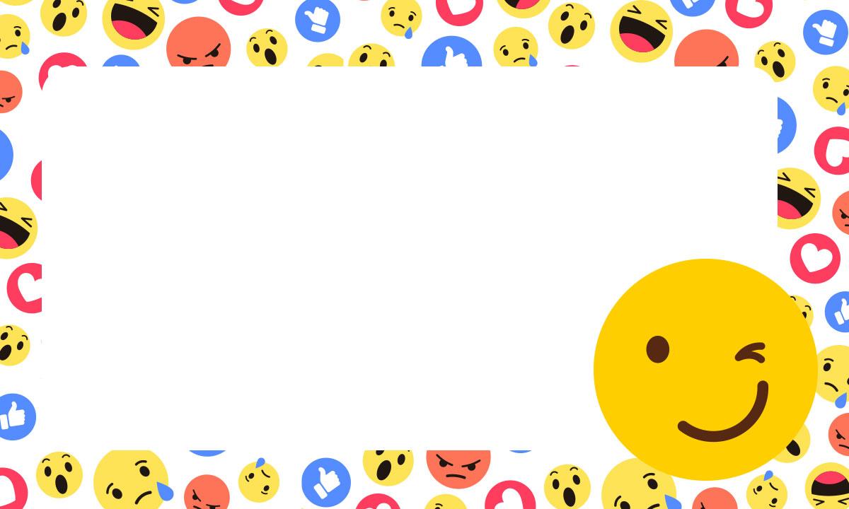 Etiqueta Escolar Emoji 8