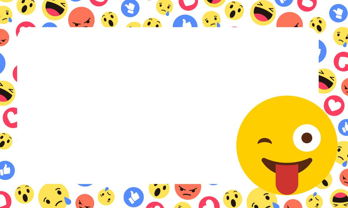 Etiqueta Escolar Emoji 9