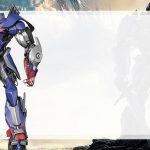 Etiqueta Escolar Optimus Prime para editar