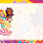 Etiqueta Escolar Sunny Day para editar