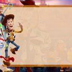 Etiqueta Escolar Toy Story 4 para editar