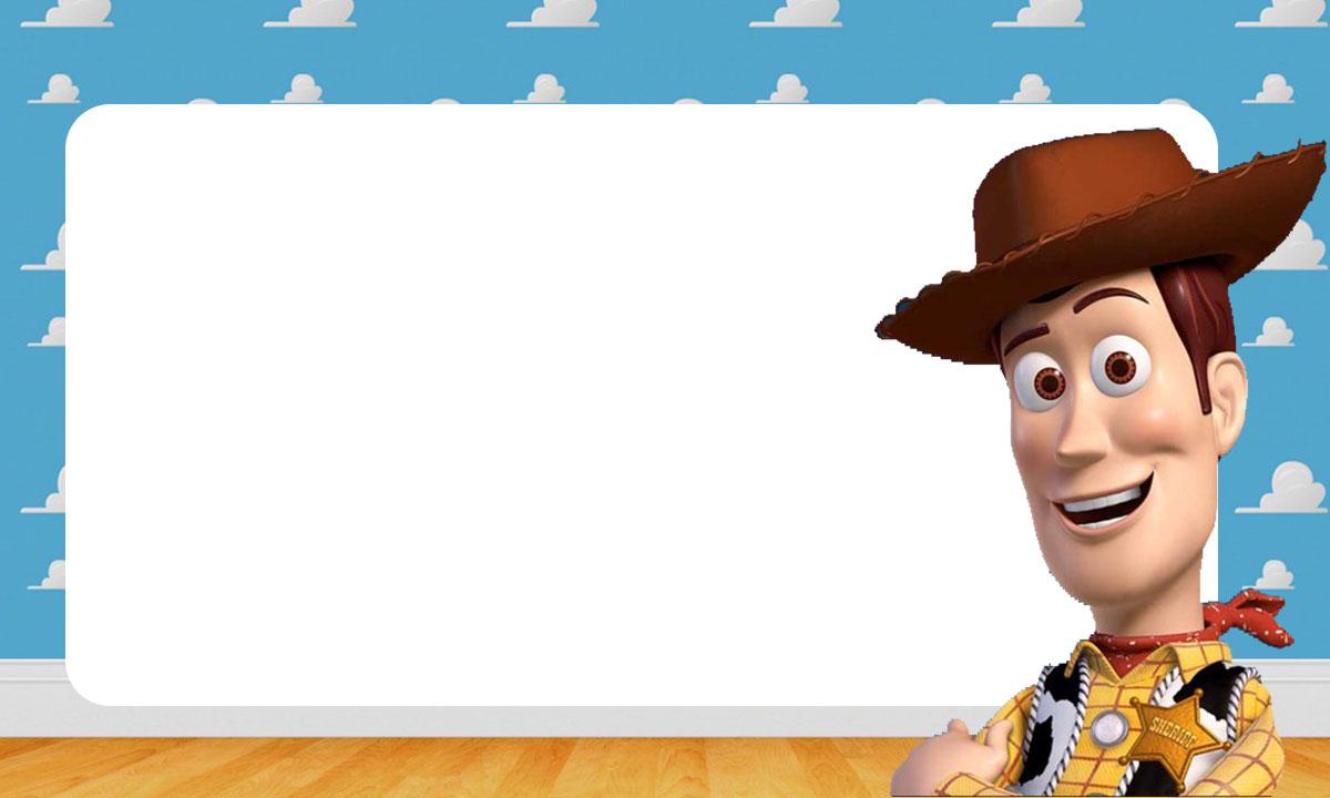 Etiqueta Escolar Toy Story para Imprimir 4
