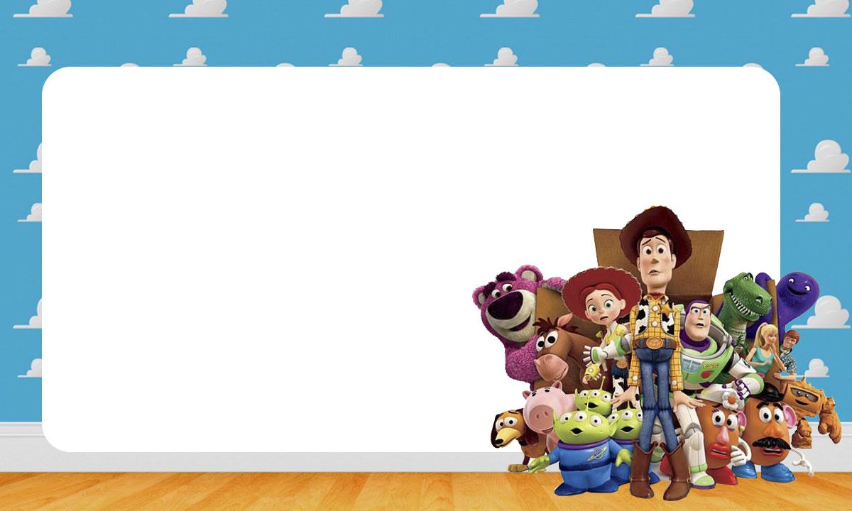 Etiqueta Escolar Toy Story para Imprimir 7