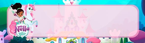 Etiqueta Escolar para Lapis Princesa Nella