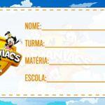 Etiqueta Volta as Aulas Animaniacs