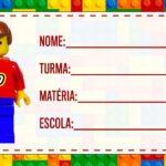 Etiqueta Volta as Aulas Lego