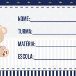 Etiqueta Volta as Aulas Ursinho Realeza