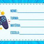 Etiqueta Volta as Aulas Video Game Play