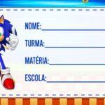 Etiqueta Volta as aulas Sonic