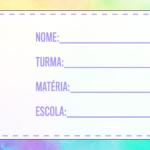 Etiqueta Volta as Aulas Aquarela