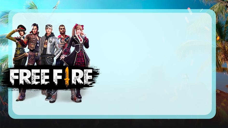 Etiqueta escolar Free fire para editar