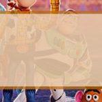 Etiqueta escolar para Lapis Toy Story 4