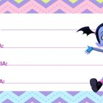 Etiquetas Escolares Vampirina 6