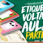 Etiquetas Escolares para editar e imprimir