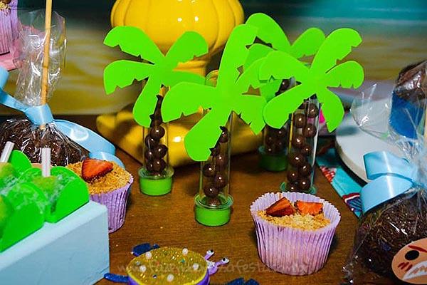 Festa Moana da Ayla tubetes