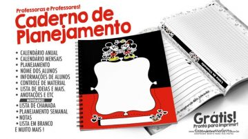 Planner para Professores Mickey e Minnie