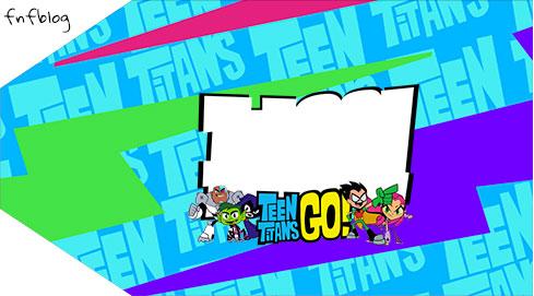 Tag Agradecimento Etiqueta Jovens Titans
