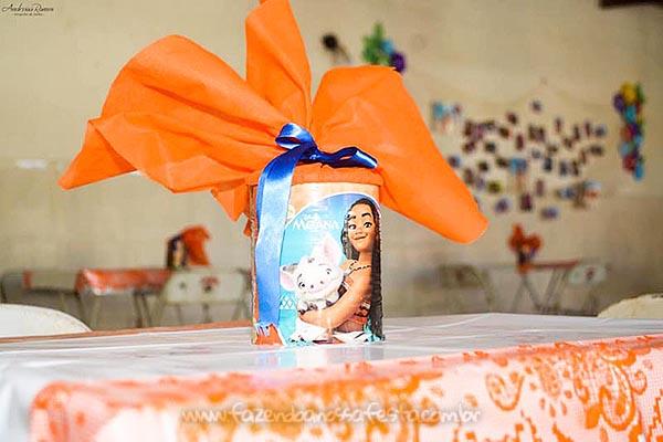 lata de leite personalizada com saquinho surpresa Festa Infantil da Ayla