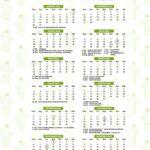 Calendario 2022 Cactos
