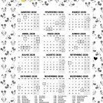 Planner 2020 Mickey e Minnie Calendario
