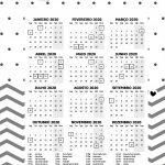 Planner 2020 Panda Calendario