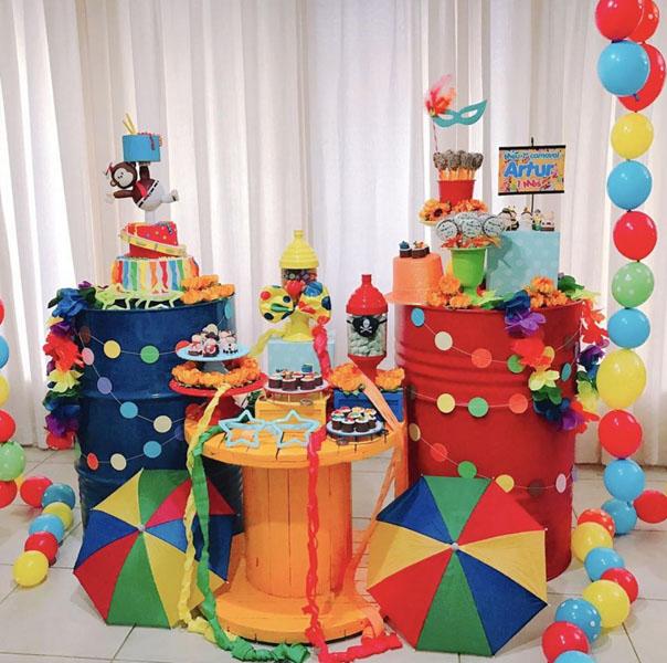 20 Ideias para Festa infantil Tema Bailinho de Carnaval 7