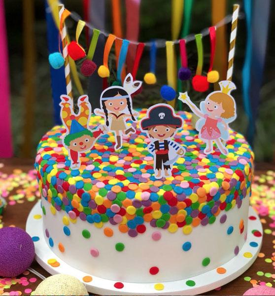 20 Ideias para Festa infantil Tema Bailinho de Carnaval3