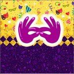 Adesivo Caixa Acrilico Carnaval Kit Festa