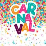 Adesivo Caixa Acrilico Festa Carnaval Infantil