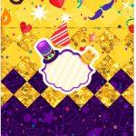 Bala Personalizada Carnaval Kit Festa