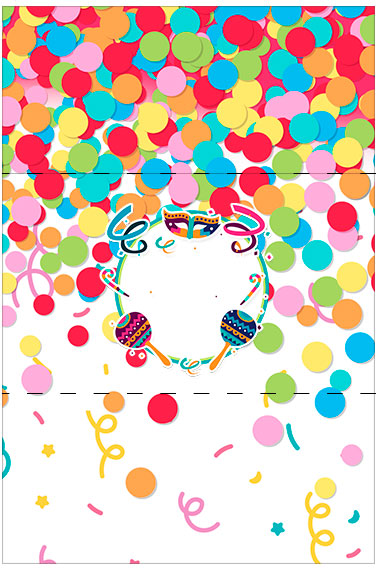 Bala Personalizada Festa Carnaval Infantil