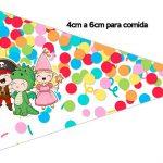 Bandeirinha Sanduiche 1 Festa Carnaval Infantil