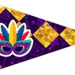 Bandeirinha Sanduiche 3 Carnaval