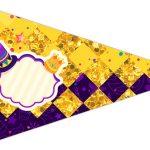 Bandeirinha Sanduiche 5 Carnaval