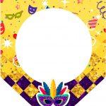 Bandeirinha Varalzinho 3 Carnaval