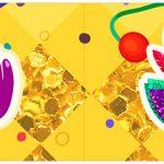 Bandeirinha para Sanduiche Carnaval Kit Festa