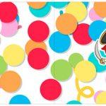 Bandeirinha para Sanduiche Festa Carnaval Infantil