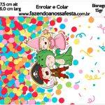 Bisnaga Brigadeiro 15gr Festa Carnaval Infantil