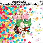 Bisnaga Brigadeiro 30gr Festa Carnaval Infantil