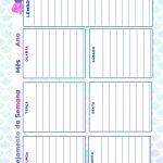 Caderno de Planejamento para Professores tema Sereia Planejamento da Semana