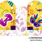 Caixa Coracao Carnaval