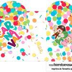 Caixa Coracao Festa Carnaval Infantil